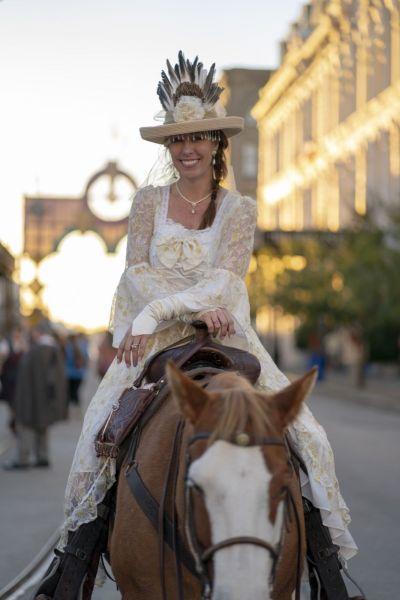 """Fête """"Dickens on the Strand"""" à Galveston Texas. Crédit photo : Galveston Convention & Visitors Bureau"""