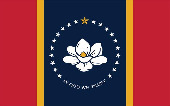 Le nouveau drapeau du Mississippi