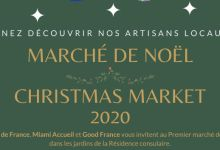 Un marché de Noël français à Miami en décembre