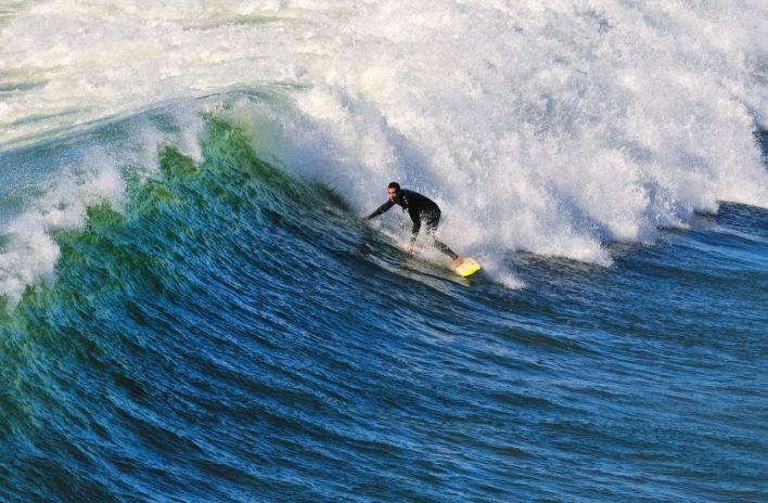 Surf à Pacific-Beach