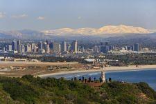 Visiter San Diego, le guide de Voyage. Ici : la vue depuis Point Loma