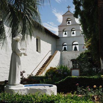 Mission San Diego de Alcalá (crédit photo : SanDiego.org)