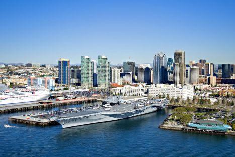 L'USS Midway à San Diego
