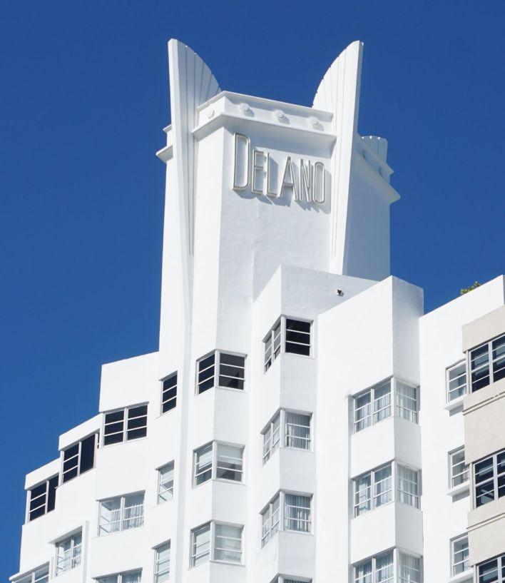 Miami Beach The Delano Hotel 1947