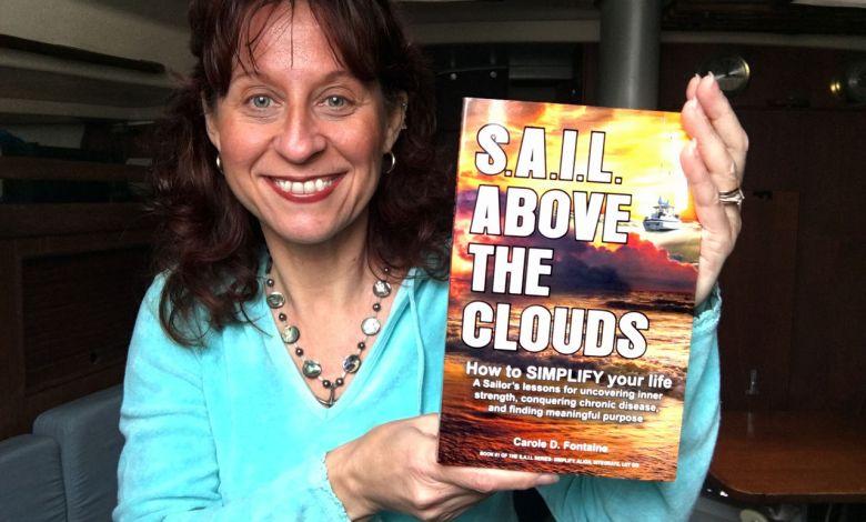 Le livre d'une Québécoise de Floride durant 20 ans sur un voilier !