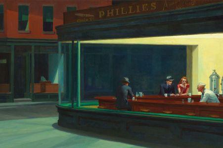 Nighthawks d'Edward Hopper