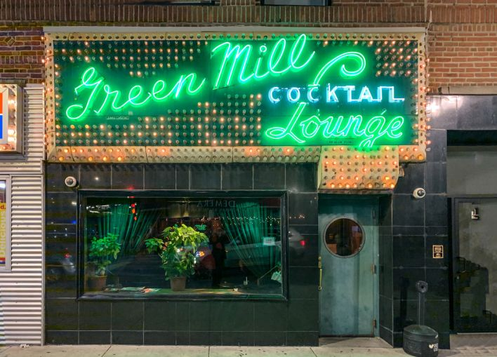 Green Mill Cocktail Lounge de Chicago.