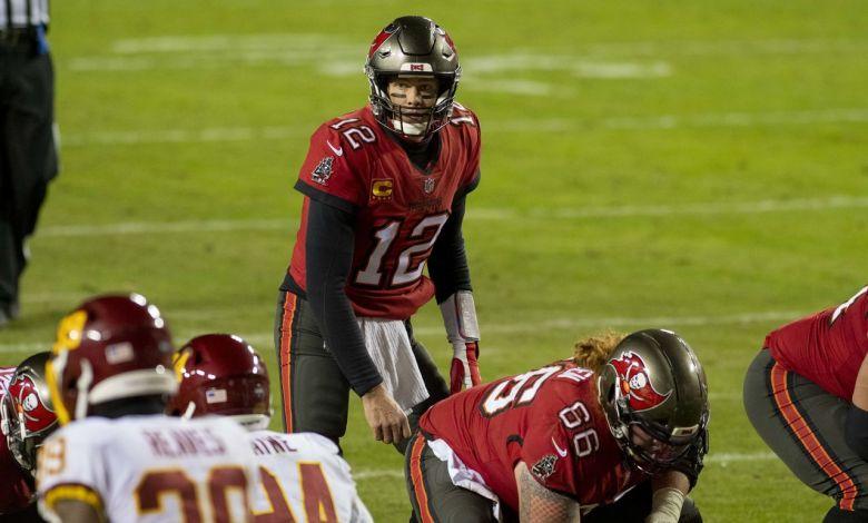 Tom Brady et les Buccaneers de Tampa.