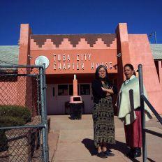 Navajos à Tuba City