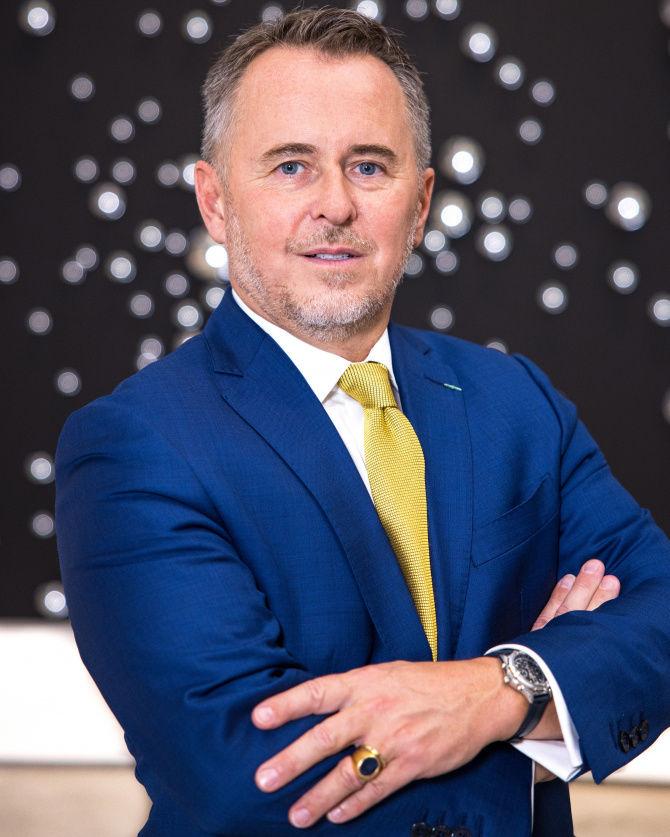 Ghislain d'Humieres, le nouveau directeur et CEO du Norton Museum de West Palm Beach.