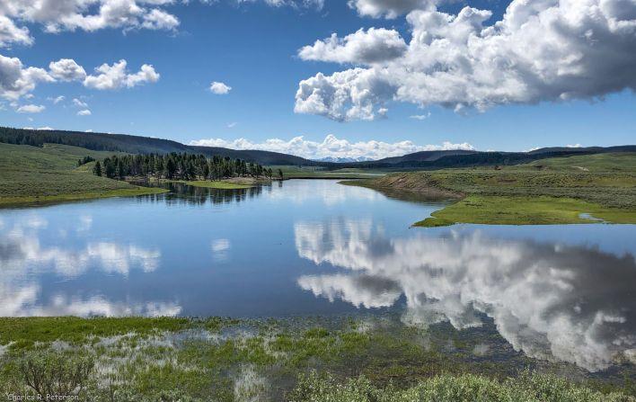Hayden Valley à Yellowstone