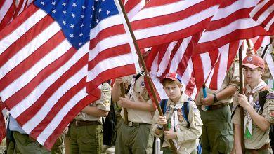 Les mouvements scouts aux Etats-Unis.