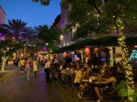 Espanola Way à South Beach, Miami Beach