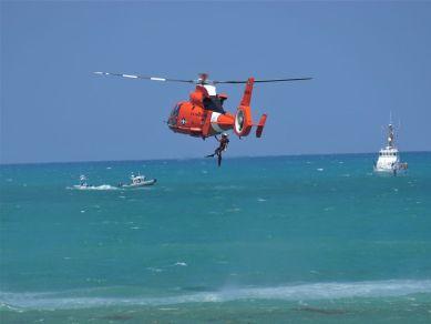 US Coast Guard Air Sea Rescue Demonstration Photo courtesy of VKLancaster ©