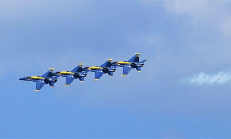 Miami Beach Air Show - Les US Navy Blue Angels