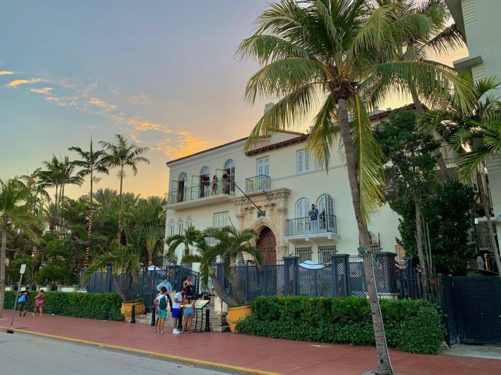 Villa Casa Casuarina sur Ocean Drive à South Beach, Miami Beach