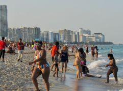Plage à Lummus Park, South Beach, Miami Beach