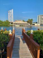 La rivière Intracoastal à Delray Beach - FlorideLa rivière Intracoastal à Delray Beach - Floride