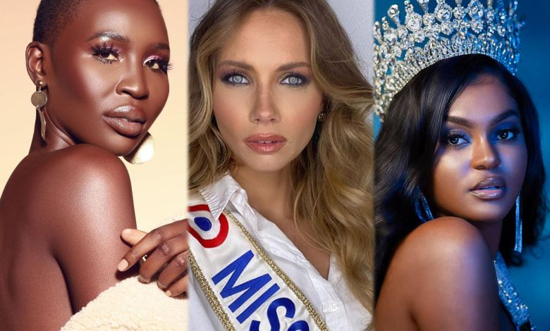 Trois miss à soutenir durant Miss Univers : Nova Stevens (Miss Canada), Amandine Petit (Miss France) Eden Berandoive (Miss Haïti).