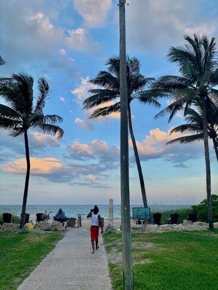 Plage de Lauderdale Beach, entre Oakland Park et Fort Lauderdale en Floride