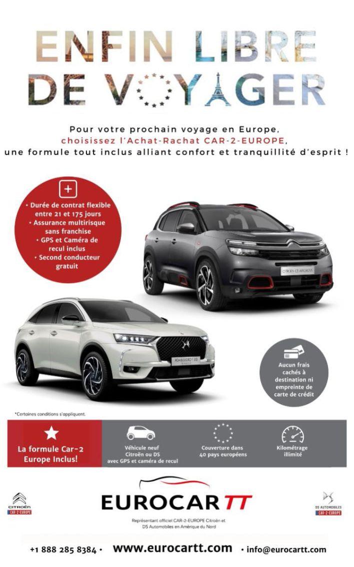 EurocarTT achat-rachat de voitures en France et en Europe