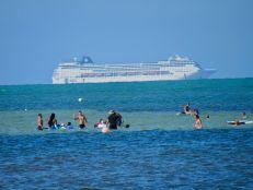 Plage nord de Crandon Park, sur l'île de Key Biscayne à Miami