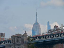 L'Empire State Building vu depuis le quartier de Dumbo, à Brooklyn (notre guide de New-York)