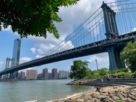 Pont de Manhattan au dessus du quartier de Dumbo, à Brooklyn (notre guide de New-York)