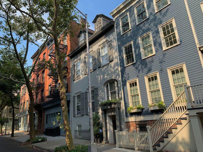 Vieille rue de Brooklyn Heights