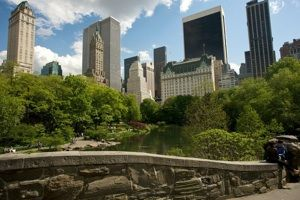 Guide de Central Park à New-York.