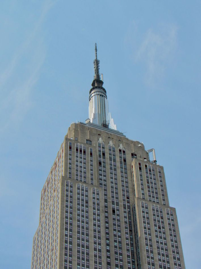 L'Empire State Building à New-York