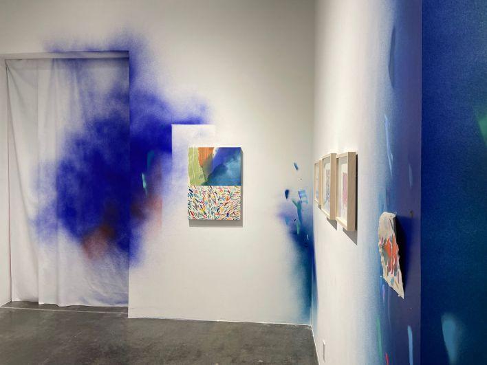 Galerie d'art dans le Gallery District de New-York