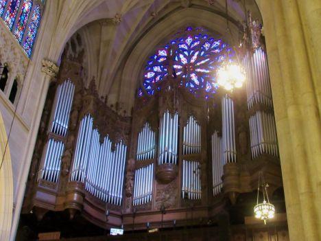 Visiter la cathédrale St Patrick de New-York : ma grande orgue