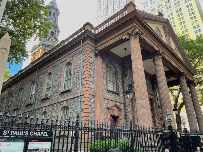 Chapelle St Paul du Financial District