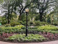 Près du Mall de Central Park.