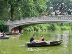 Endroit romantique s'il en est à Central Park, New-York City