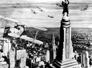 King Kong (1933) sur l'Empire State Building