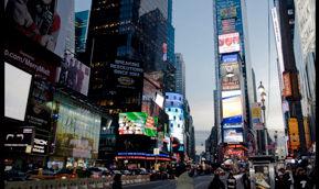 Times Square, le cœur de Broadway à Manhattan (New-York)