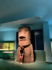 Partie sur les autochtones (indiens) du Pacifique au Musée d'histoire naturelle de New-York (American Museum of Natural History)