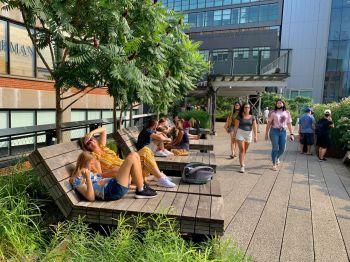 La High Line de Chelsea, à New-York City