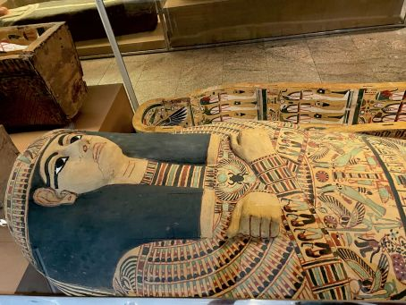 Momies égyptiennes au Metropolitan Museum of Art de New-York