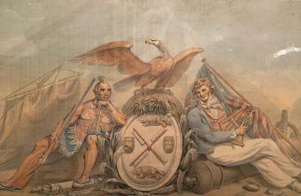 Armes de la Ville de New-York au Metropolitan Museum of Art de New-York