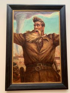 John Brown par John Steuart Curry au Metropolitan Museum of Art de New-York