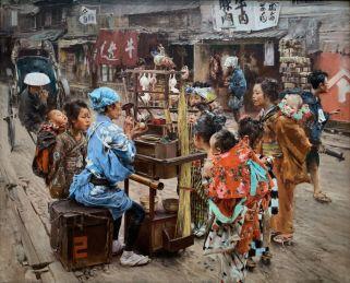 """L'extraordinaire """"The Ayema"""" peint par Robert Blum en 1893 et toujorus aujourd'hui plus réliste qu'une photo !!!. A voir au : Metropolitan Museum of Art de New-York"""