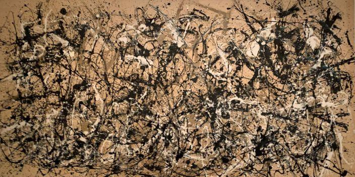 Number 28, par Jackson Pollock (1950) au Metropolitan Museum of Art de New-York