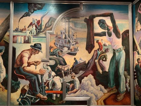 American Today, par Thomas Hart Benton (1930-31) au Metropolitan Museum of Art de New-York