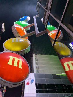 Magasin M&M's de Times Square à New-York
