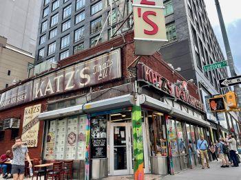 Sandwich au Pastrami à Katz's