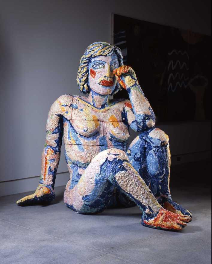 Weeping Woman, par Viola Frey (1990-91).