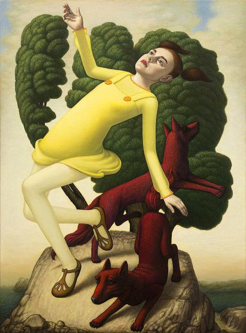 Peinture de John Tarahteeff / Nüart Gallery.